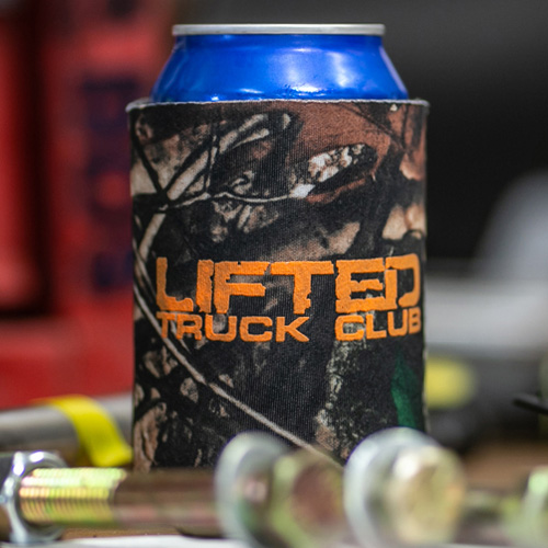 Lifted Truck Club Can Koozie