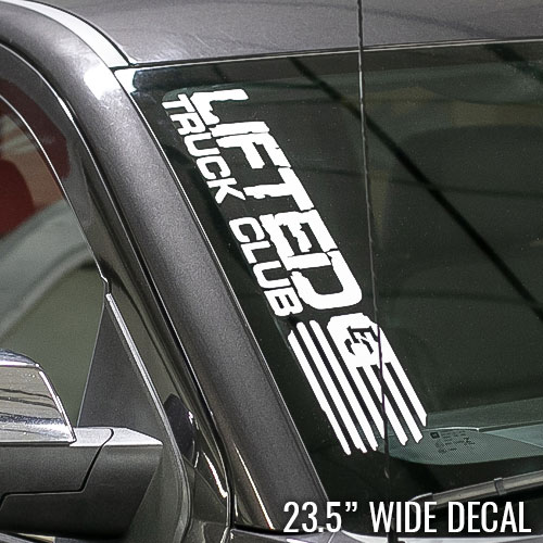 LTC Decal - Medium Flag - 23.5x3.875