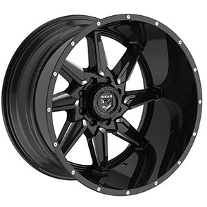 Gear Offroad Wrath 751BM Gloss Black