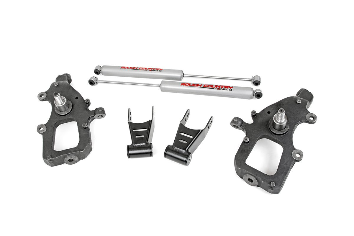 Front 2-inch / Rear 2-inch Lowering Kit
