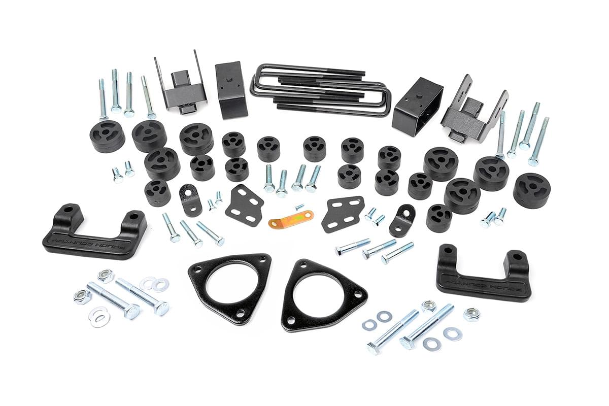 3.75-inch Suspension & Body Lift Combo Kit