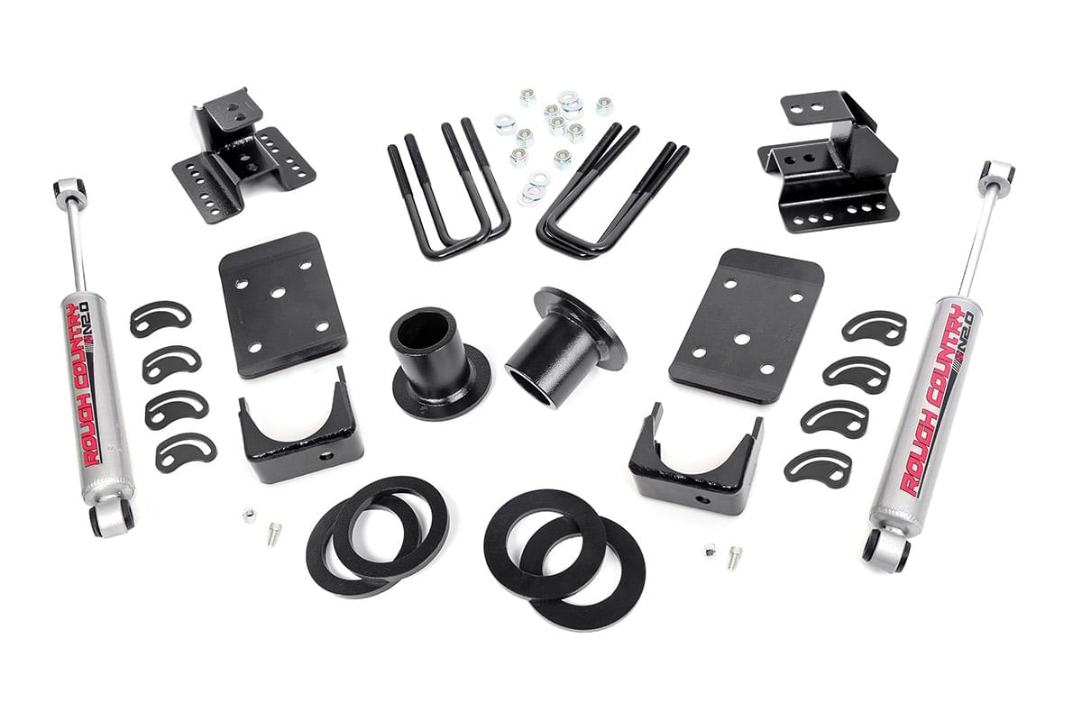 Front 1-2-inch / Rear 4-inch Lowering Kit